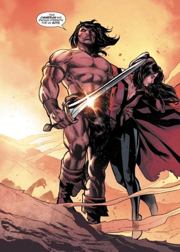 Avengers No Road Home 5 Ending SPoilers Conan The Barbarian