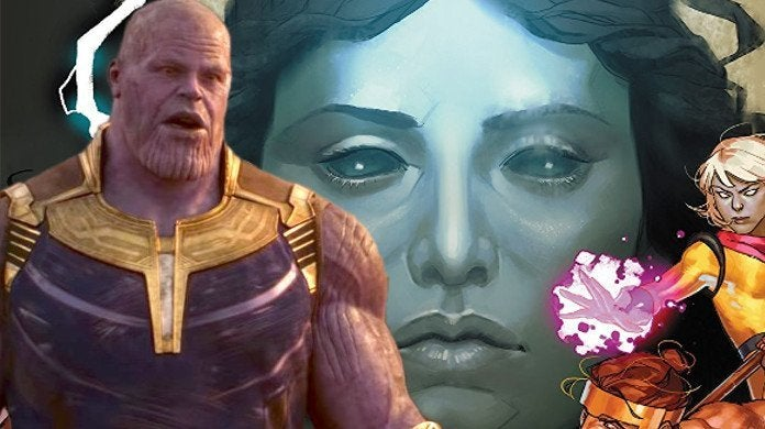 Avengers Nyx Thanos