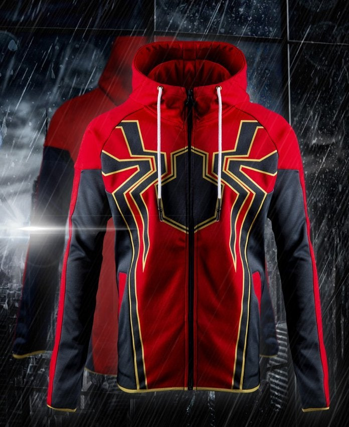 Save a Few Bucks on Marvel's Avengers Iron Spider Hoodie