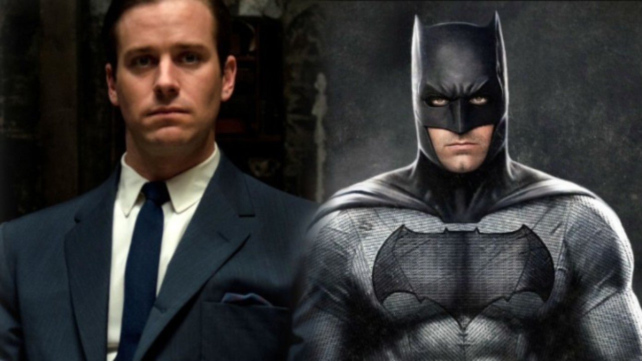 Armie Hammer Reveals How Excited He Would Be to Join 'The Batman'