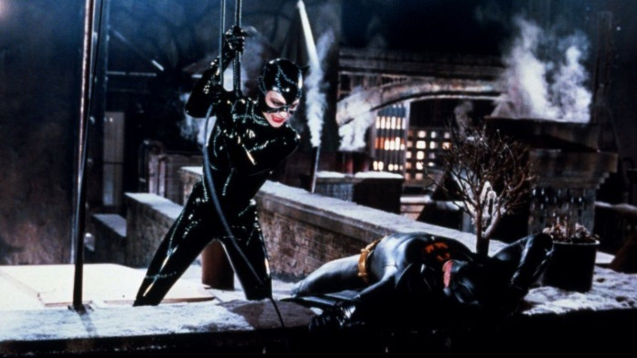 'Batman Returns' Star Michelle Pfeiffer Breaks Out Her Catwoman Whip