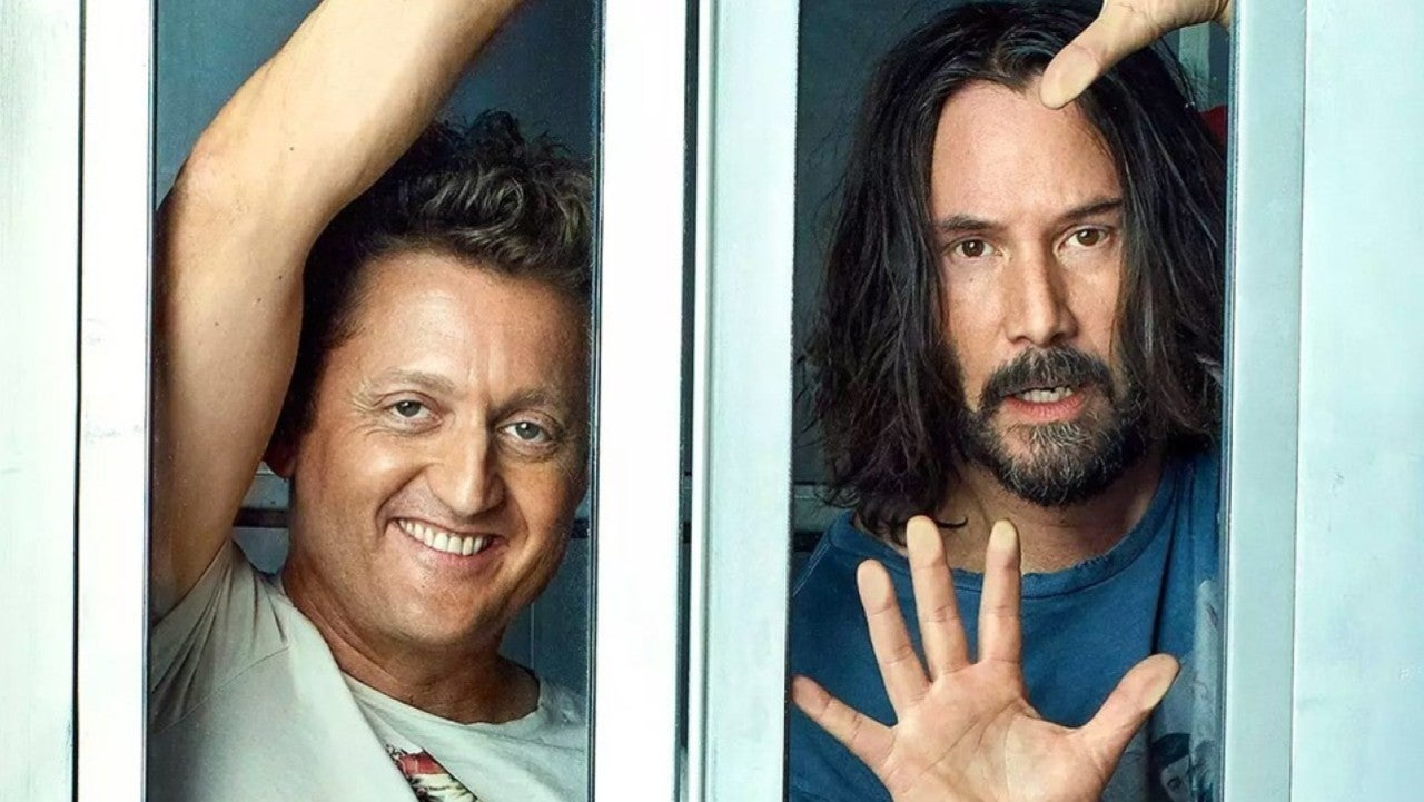 Bill & Ted 3 Star Alex Winter Celebrates Beginning of Production with Heartfelt Tweet
