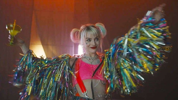 Birds Prey Movie Set Photos Harley Quinn Margaritas