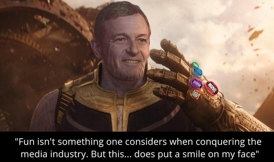 Marvel Fan Art Imagines Disney CEO Bob Iger as Thanos