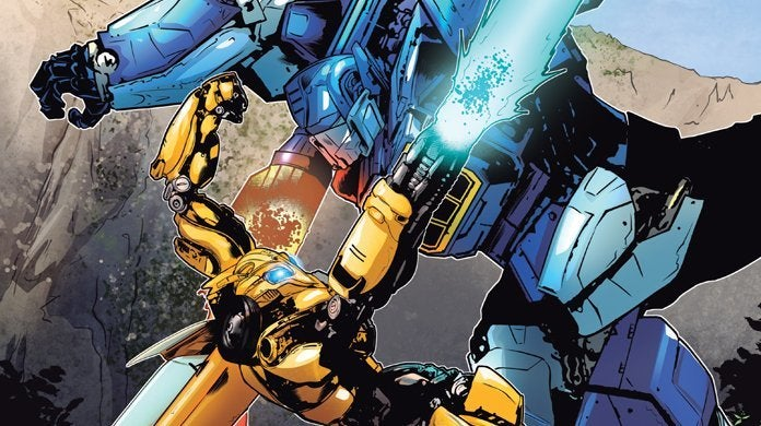 bumblebee comic battle at half dome cover