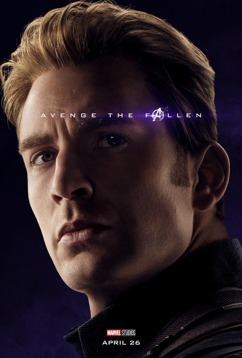 captain america endgame poster