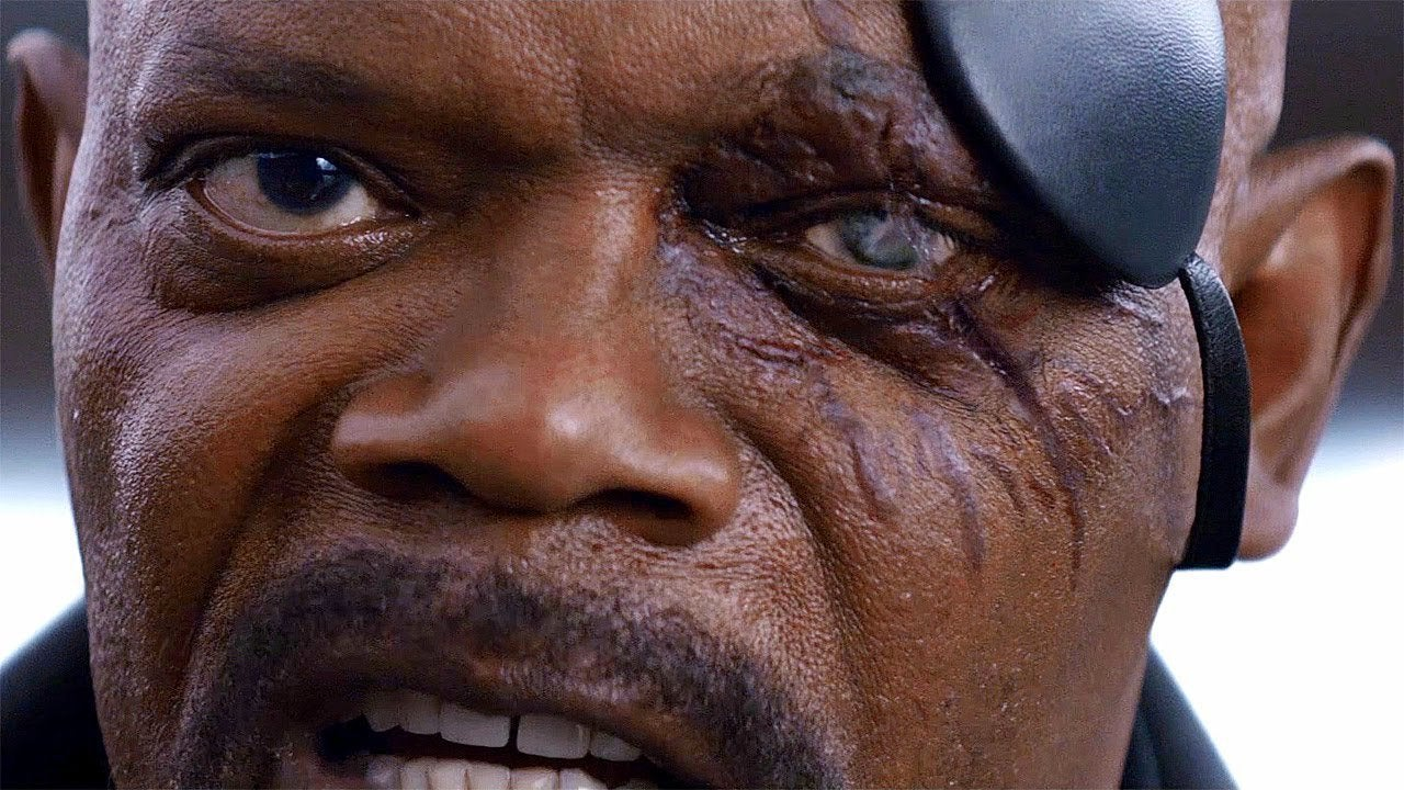 Captain Marel How Nick Fury Loses Eye Goose Scratch