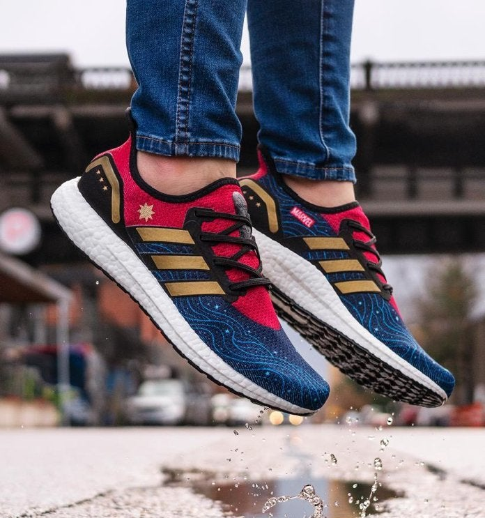a7a8562c6a  Captain Marvel  Adidas Sneakers Arrive Today