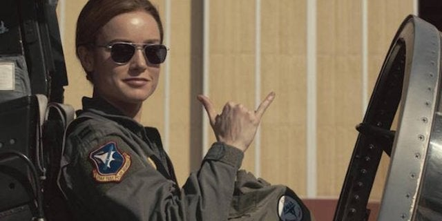 Captain Marvel Air Force
