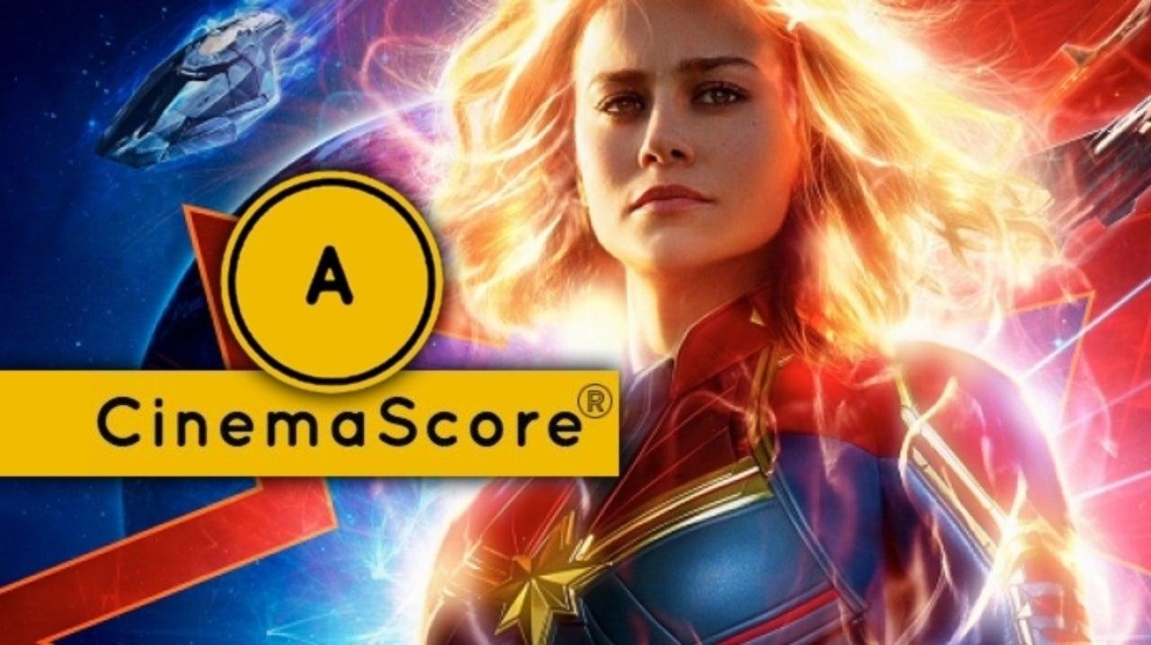 'Captain Marvel' Gets an A CinemaScore