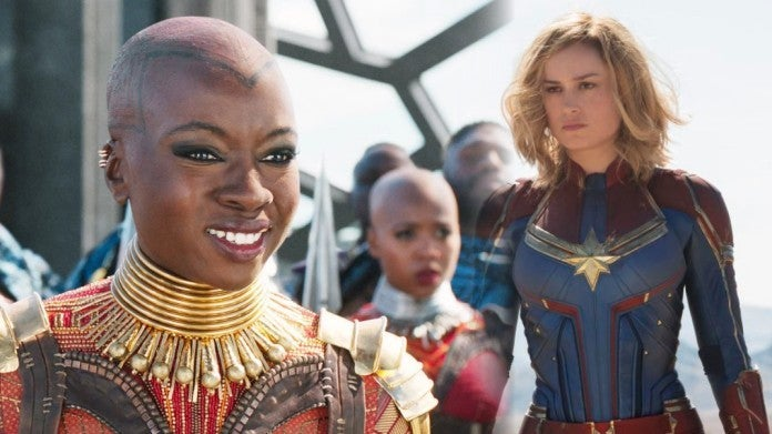 Captain Marvel Danai Gurira Black Panther ComicBookcom