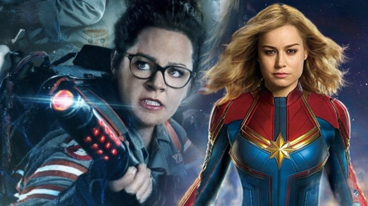 ghostbusters' director paul feig calls 'captain marvel' review