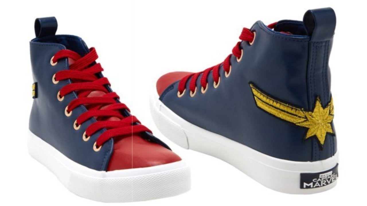 Get These 'Captain Marvel' Sneakers for