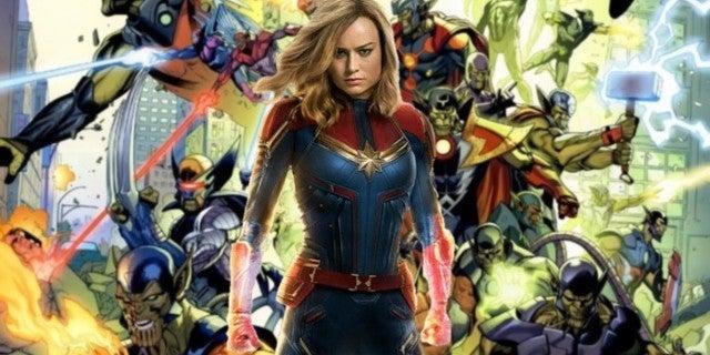 Captain Marvel Movie Ending Secret Invasion MCU Skrulls
