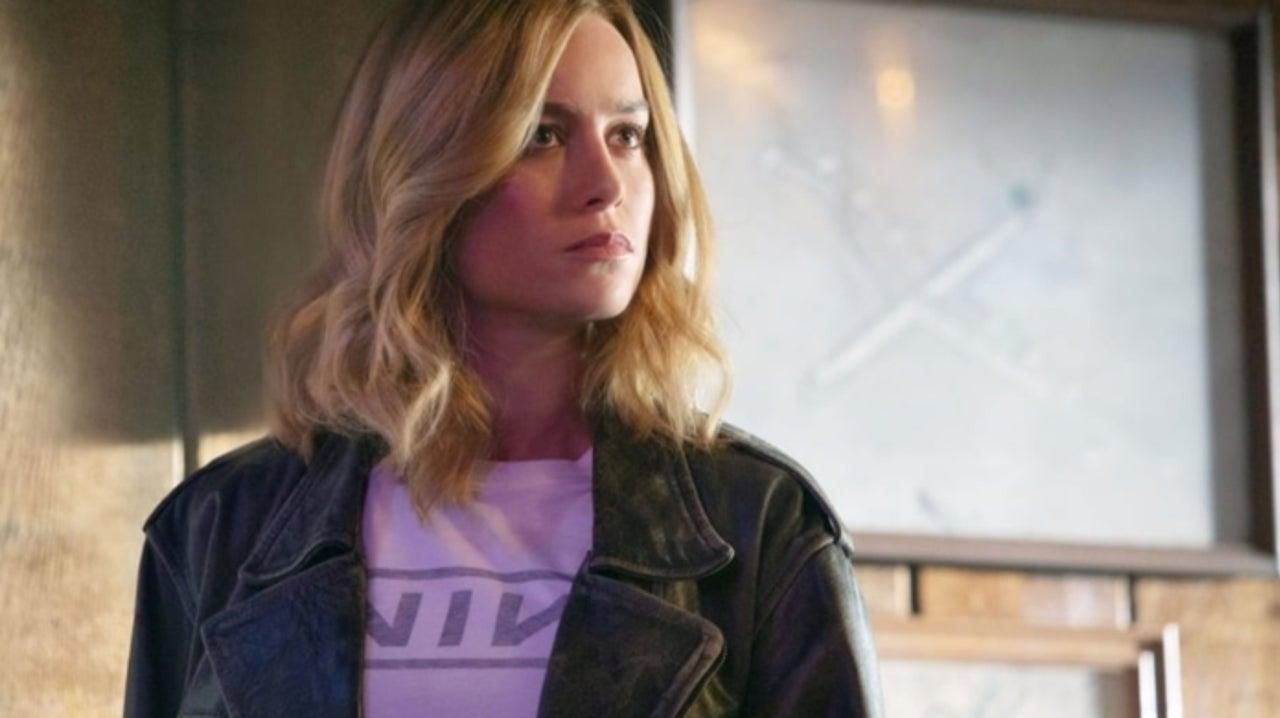 Captain Marvel Star Brie Larson Has Epic Reaction to Fan Proposal