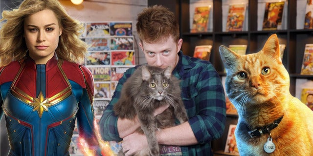 Captain Marvel's Cat's First Appearance - MAJOR ISSUES screen capture