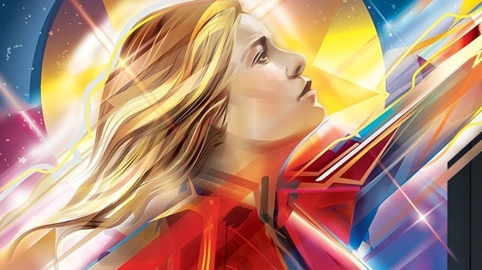 Captain-Marvel-Sideshow-Fine-Art-Print