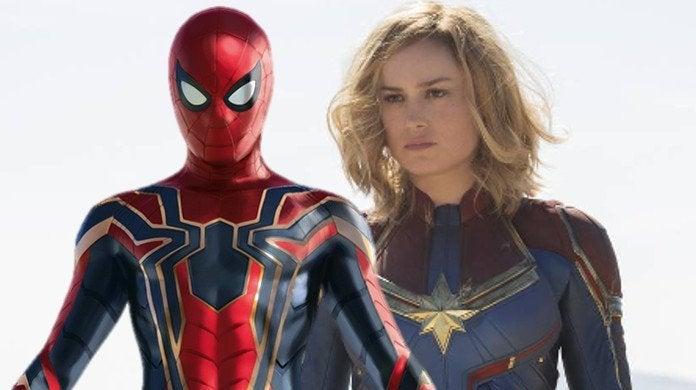 Captain Marvel Spider-Man