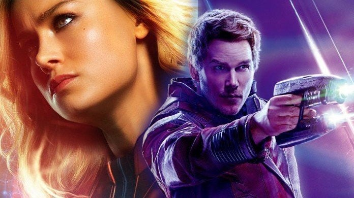 captain marvel star lord peter quill
