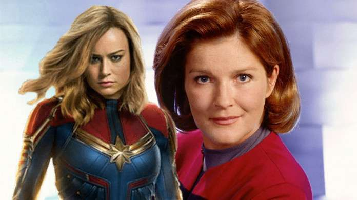Captain Marvel Star Trek Janeway Kate Mulgrew