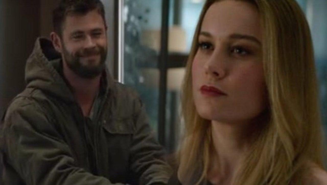 'Avengers: Endgame' Meme Reveals Why Captain Marvel Isn't Scared of Thor