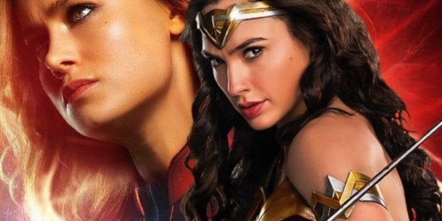 Captain Marvel Wonder Woman