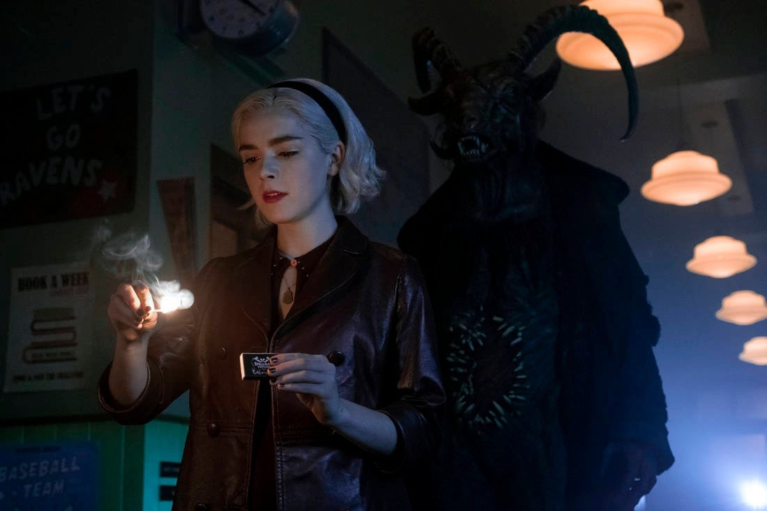 Chilling Adventures Of Sabrina Part 2 Photos Released