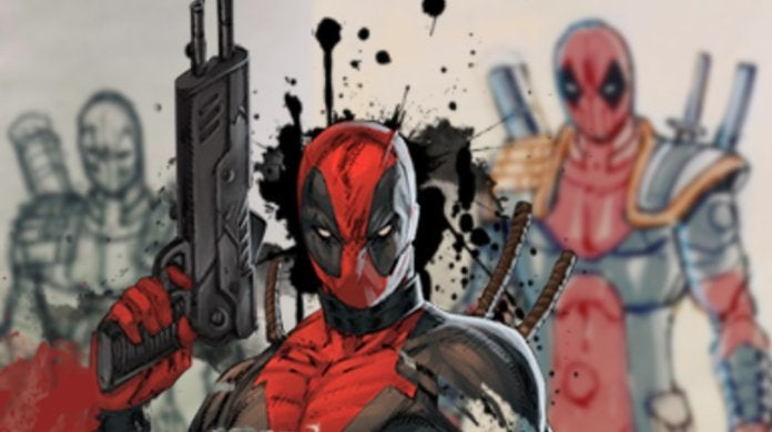 Deadpool Rob Liefeld Dreadpool Artwork