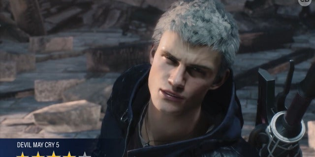Devil May Cry 5 - Video Game Review screen capture