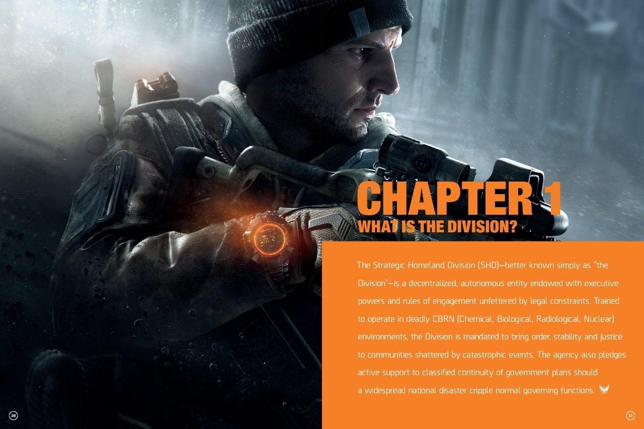 'The World of Tom Clancy's The Division' Lore Book Exclusive First Look