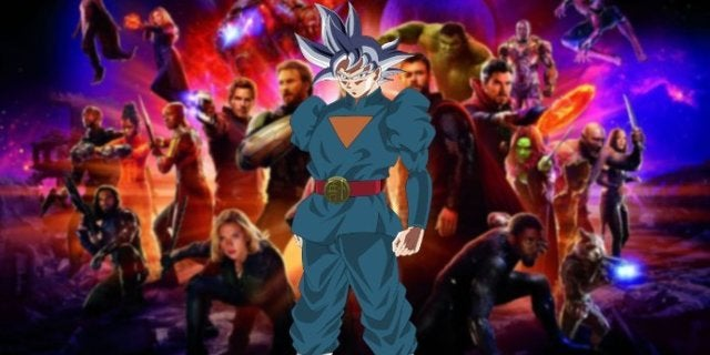 Dragon Ball Heroes Grand Priest Goku Avengers Infinity War Thor Battle Wakanda