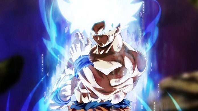Dragon Ball Super Goku Ultra Instinct God Mode Grand Priest