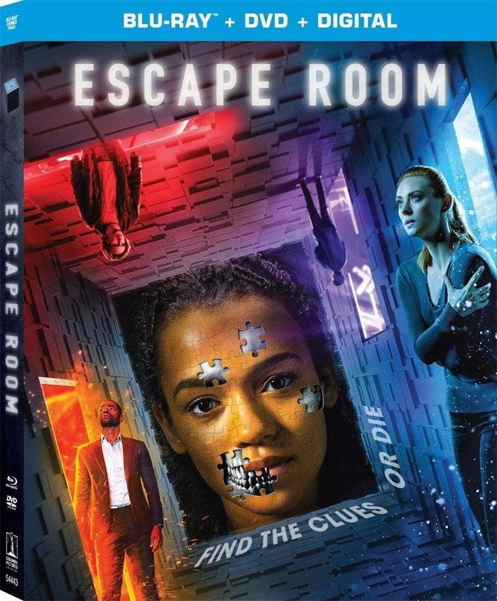 escape room movie blu ray