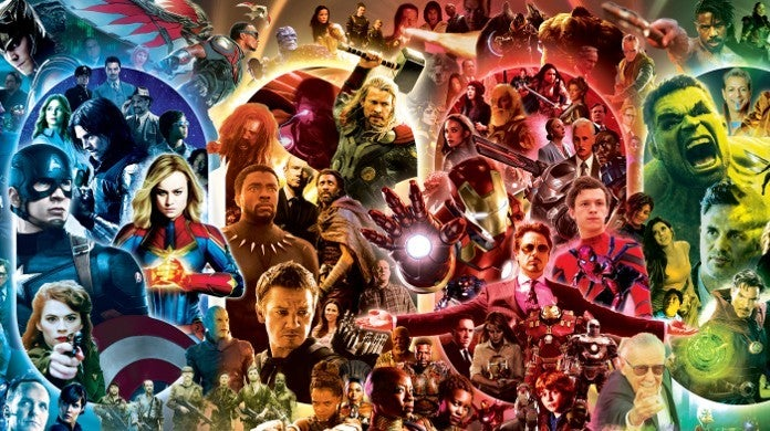 Every MCU Character Poster