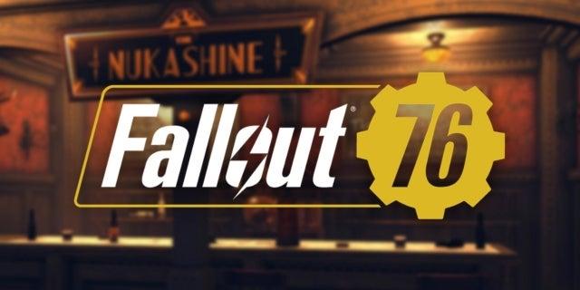 Fallout 76 Brewing Station Nukashine