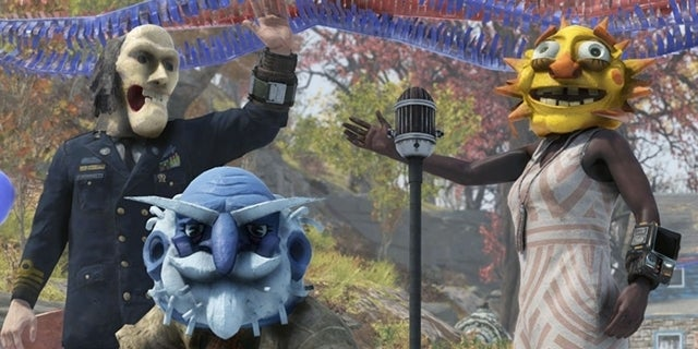 Fallout 76 Fasnacht Parade Masks