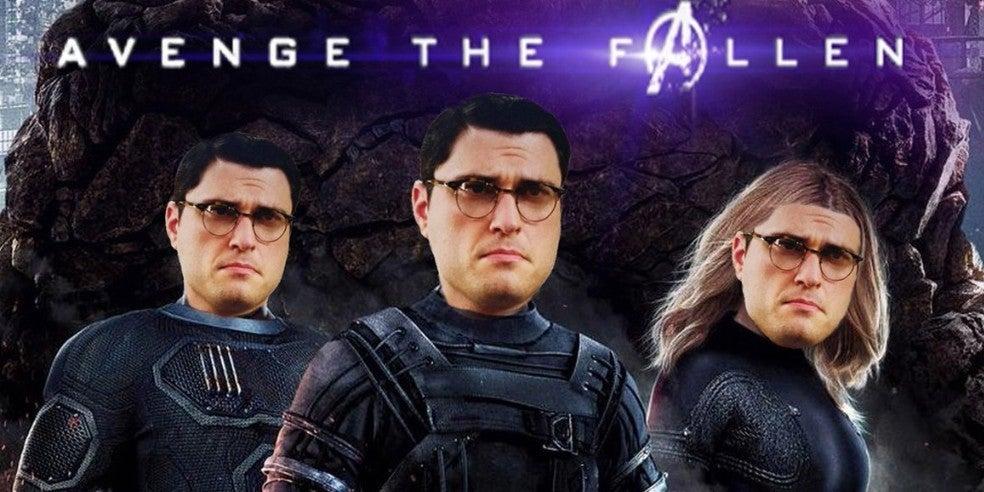 fantastic four avengers endgame