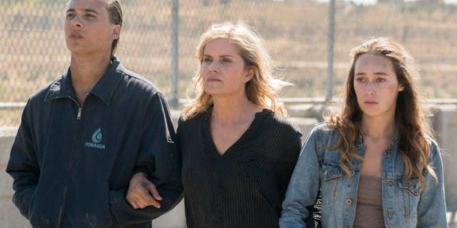Fear the Walking Dead Clark family