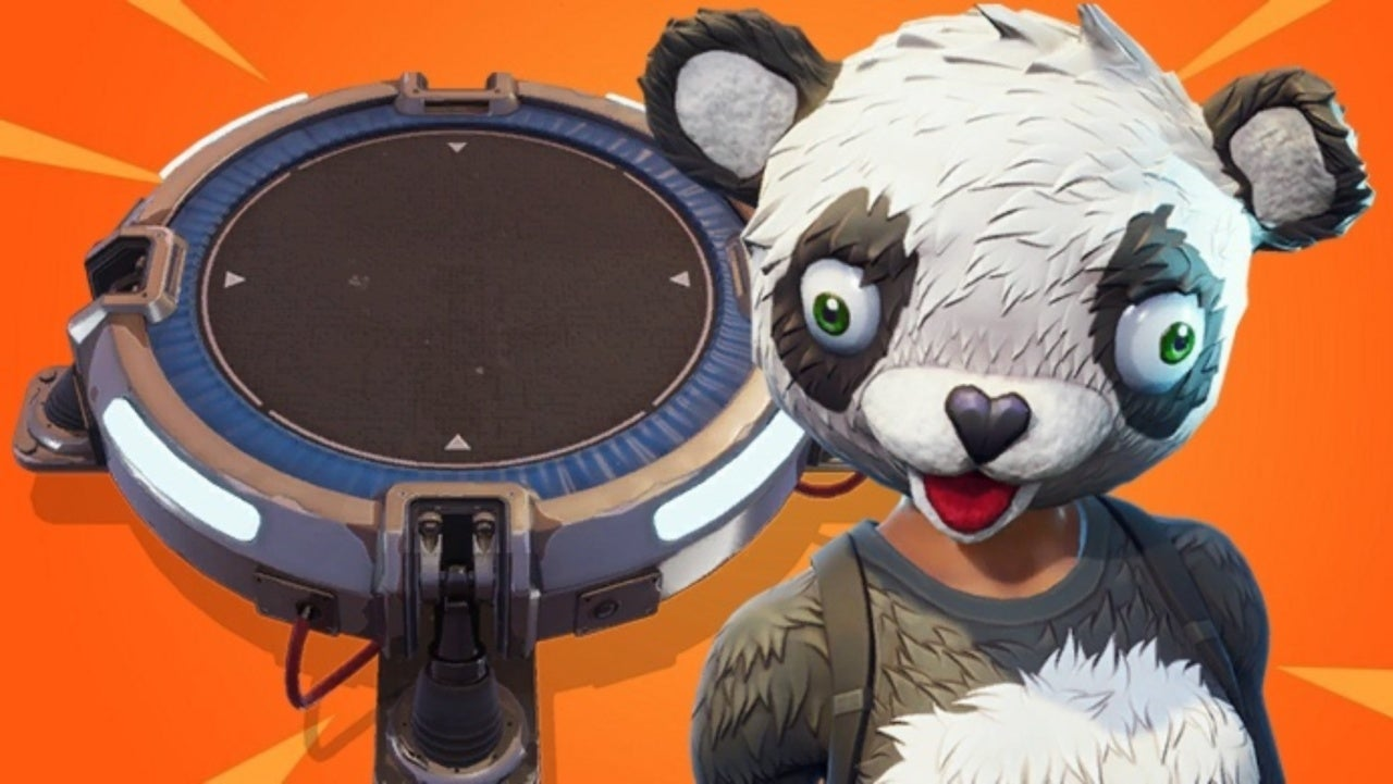 fortnite launch pad bug lets players destroy everything - launch pad fortnite