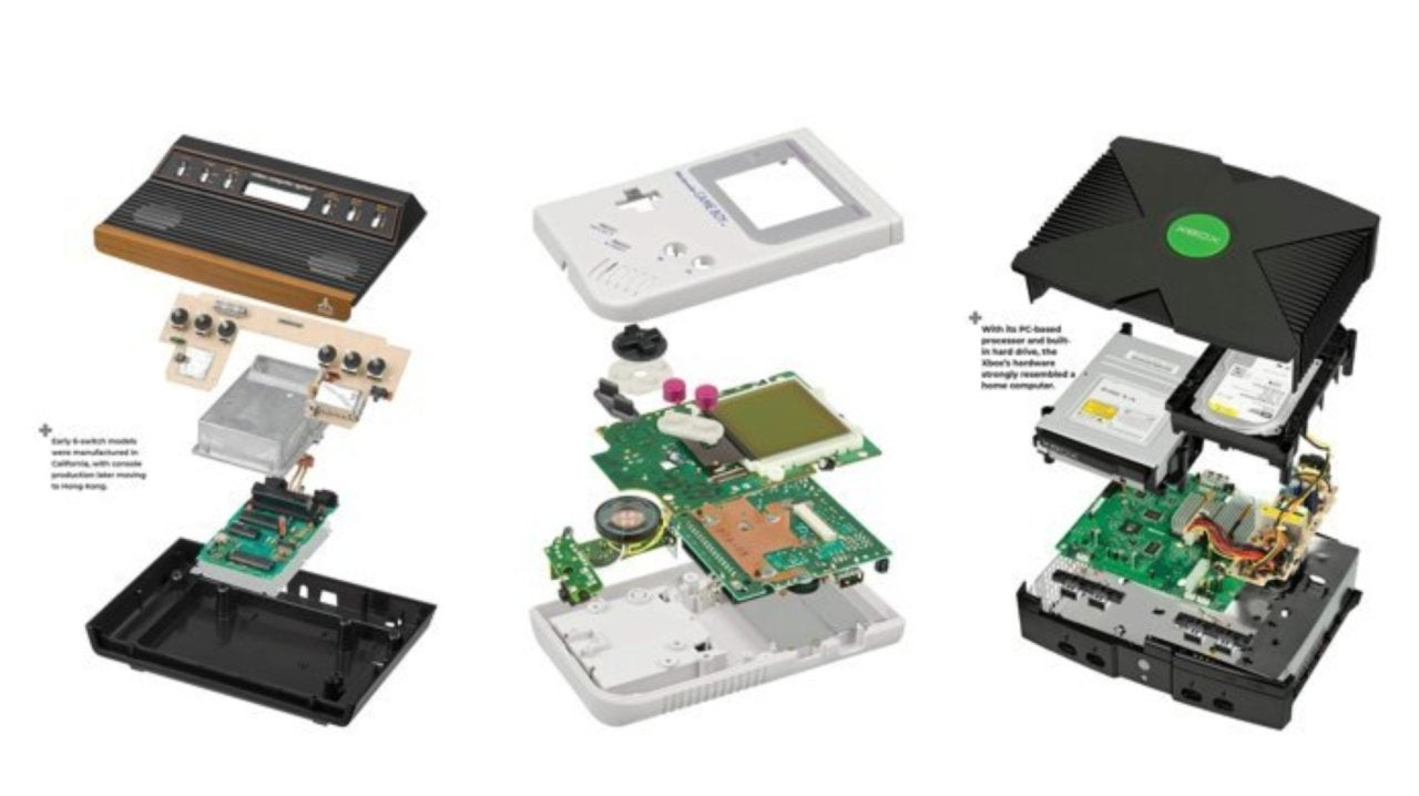 Save 32% on a Book With Exploded Views of Your Favorite Game Consoles