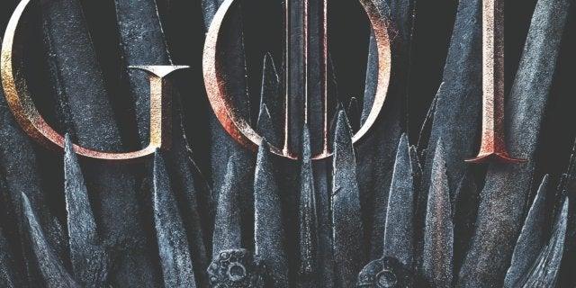 Game of Thrones Season 8 Poster Dragon Iron Throne