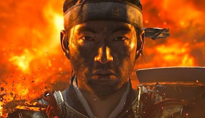Ghost of Tsushima up close