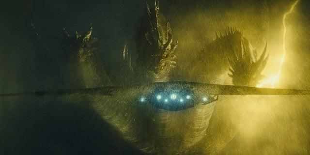 Godzilla 2 Monarch Plane vs Ghidorah