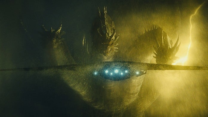 Godzilla 2 Monarch Plane vs Ghidorah