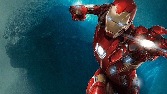 godzilla iron man