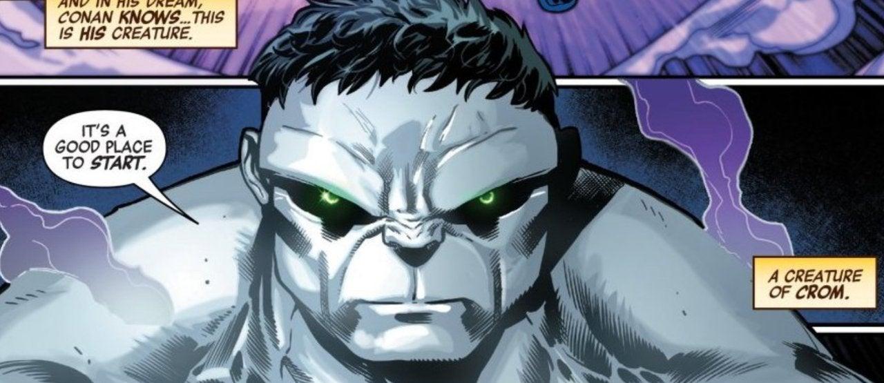 Marvel Teases Gray Hulk