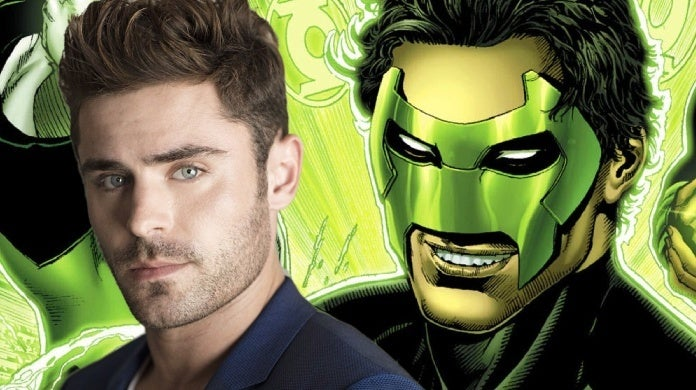 green lantern corps zac efron kyle rayner