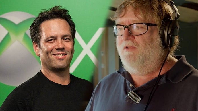 Halo Steam Phil Spencer Gabe Newell