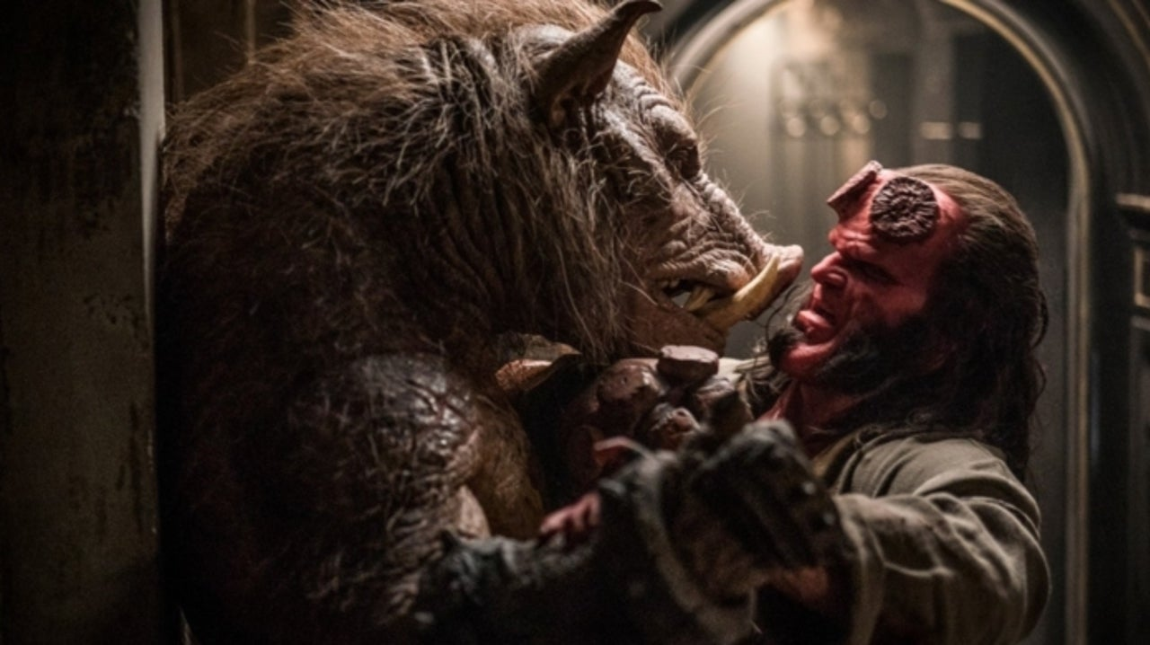 Hellboy' Actor Douglas Tait Talks Playing a Villainous Pig
