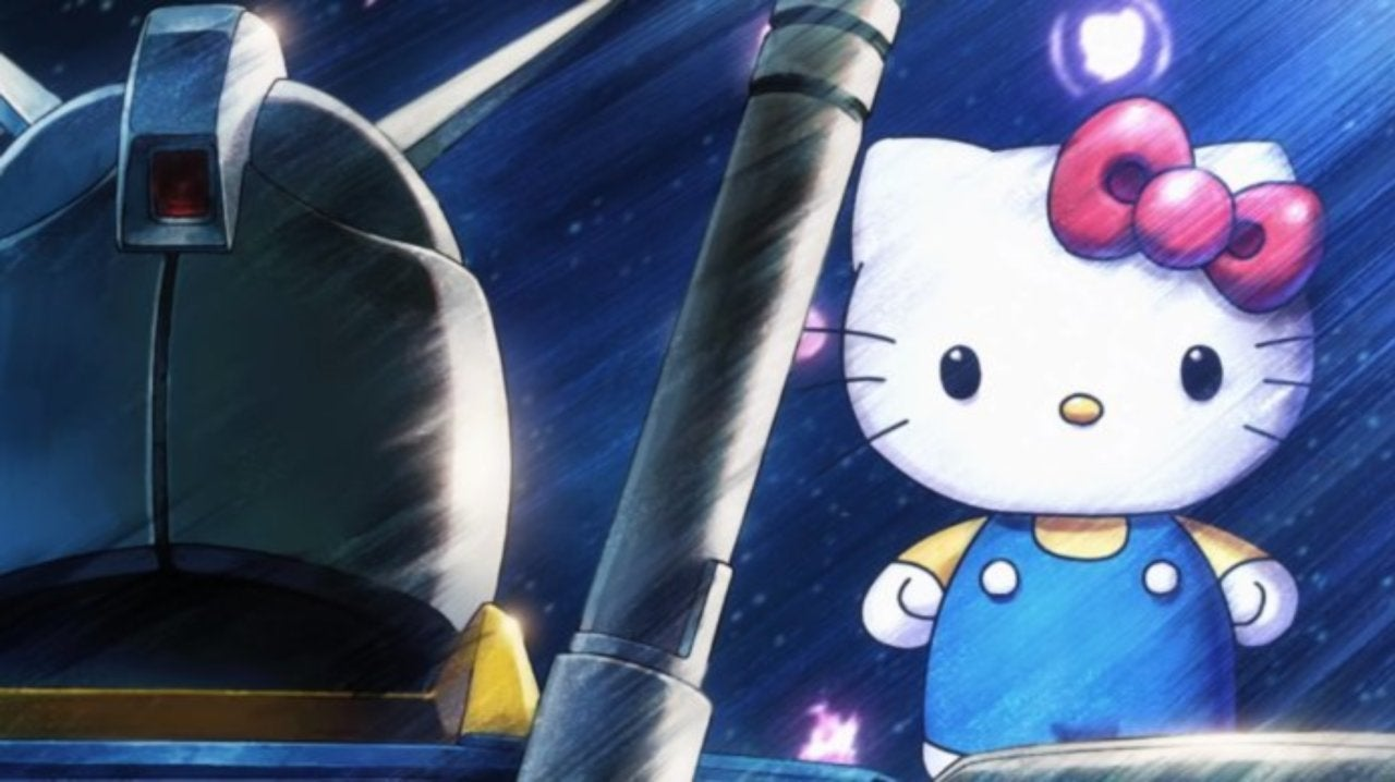 59289ba8f 'Hello Kitty' and 'Gundam' Crossover in Special Collaboration